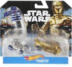 DWUPAK HOT WHEELS STAR WARS POJAZD R2-D2 I C-3PO