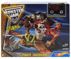 TOR HOT WHEELS MONSTER JAM PIRACKI POJEDYNEK AUTO